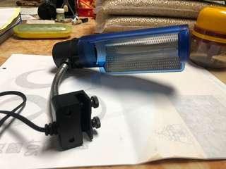 🚚 魚缸夾燈