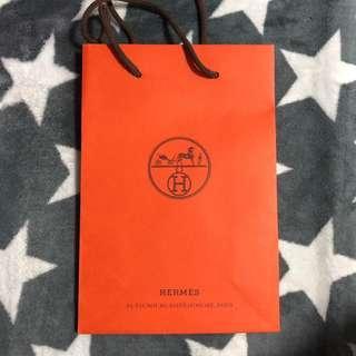 hermes 紙袋
