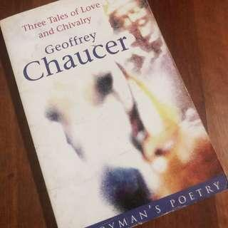 Three Tales of Love and Chivalry by Geoffrey Chaucer