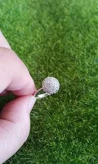 韓國碎鑽小香戒指