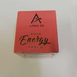 APRIL 22 Rose Energy Cream