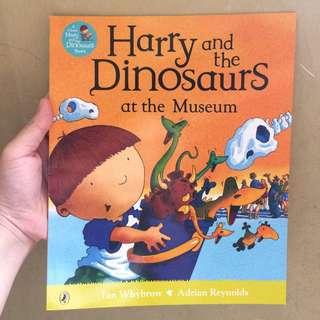 Harry and the Dinosaurs at the Museum by Ian Whybrow,  Adrian Reynolds (Illustrator)