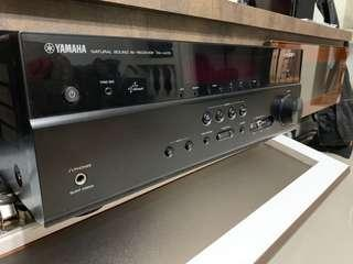 Yamaha home theatre with 5 Carlson surround speaker