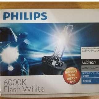 Philips xenon bulb 6000k D4S