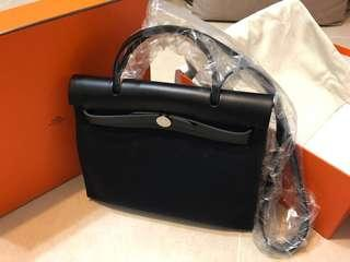Hermès  Herbag ZIP 31 Black