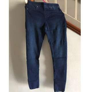 H&M Jean Long Pants (DENIM)