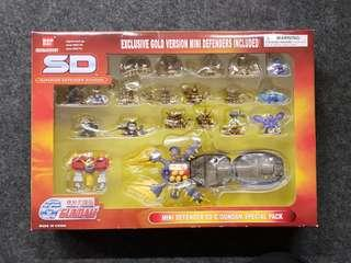 美版 SD Superior Defender Gundam G Gundam Special Pack G機動武鬥傳 SD高達