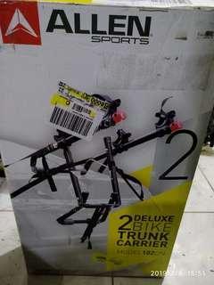 REPRICED! Allen 2 bikes car trunk carrier