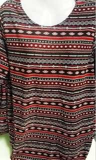 NEW STRETCHABLE WOMEN TOP - Red Tribal