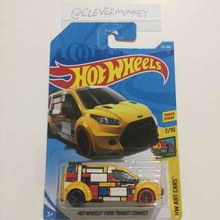 Hot Wheels HW Art Cars Ford Transit Connect 352/365