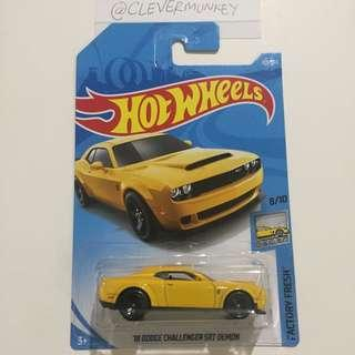 Hot Wheels 319/365 '18 Dodge Challenger SRT Demon