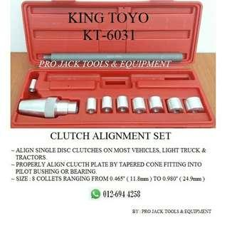 King Toyo Clutch Alignment Set