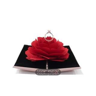 **PROMOTION** Hidden Rose Ring Box (Delphine Box)