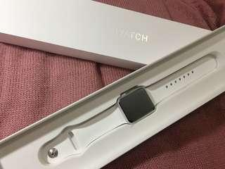 100% new Apple Watch S1 38mm 全白