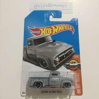 Hot Wheels 108/365 Custom '56 Ford Truck