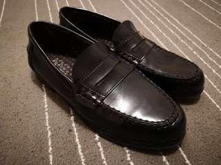 西班牙製黑皮鞋 Loafer