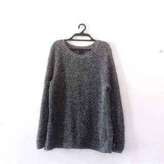 Oversized Knitted Sweater #MAKESPACEFORLOVE