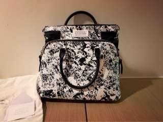 Maison Margiela Printed Coated Shoulder Bag MMM