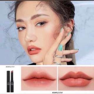 韓國 3CE slim velvet lip color 唇膏 100%new  典雅文藝氣息的復古珊瑚紅