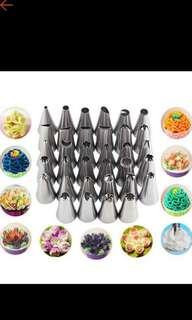 🚚 cupcake pipping nozzles