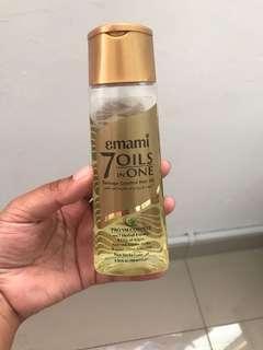 Emami 7-in-1 Hair Oil #mmar18