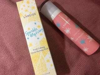 全新 LANEIGE morning mask Fresh Calming Morning Mask