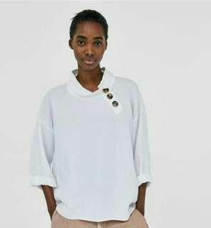 Zara Top with Buttons