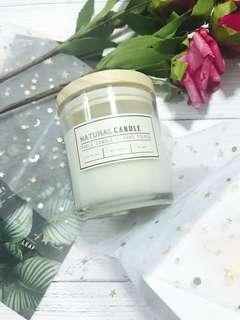 100% Soy Wax Hand-poured Candle (Free Mail)