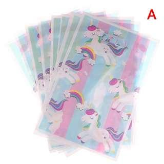 Unicorn theme party supplies - party loot bags / goodie bags / gift bags