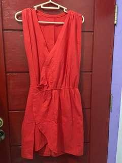 Pre-loved Red Orange Dress