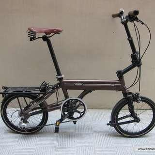 Ori C8 Classic folding bike free a lot accesories including folding back front & back light & helmet