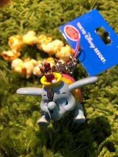 🚚 [日本全新品]迪士尼小飛象迷你爆米花鑰匙圈 正品 現貨一組特賣 限量