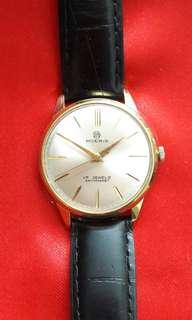 Swiss Moeris Case Goldfill 20um Wrist Watch