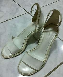 Charles and Keith White Heels