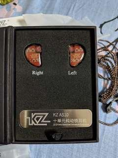KZ AS10 as 10 earbud