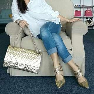Authentic Chanel Reissue 228 Flap Bag