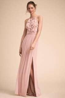 粉紅色晚裝姐妹裙 Evening Gown