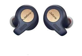 Authentic Jabra Elite Active 65t True wireless earphones (Copper Blue)