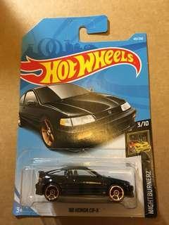 新到現貨 Hot Wheels 2019 H case 88 Honda CRX