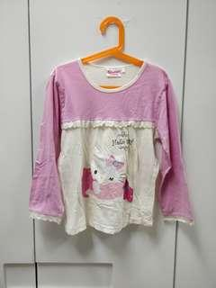Hello Kitty 2 piece long sleeve pyjamas