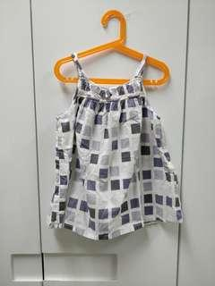 Kids purple dress