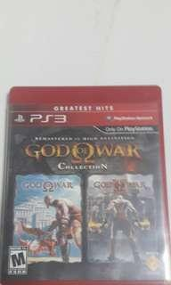 🚚 God of War 1 and 2 collection-PS3
