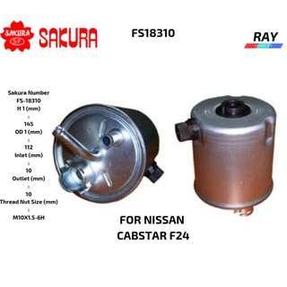 SAKURA DIESEL FUEL FILTER FOR NISSAN CABSTAR F24  OG7057 16400-ES60C NISSAN CABSTAR YD30DDTI,ZD30DDTi