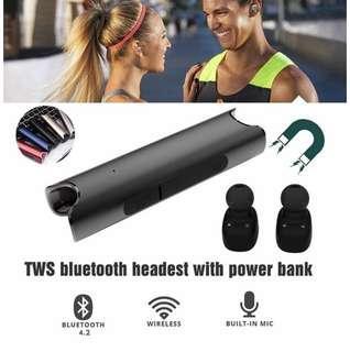 專業防水跑步運動藍牙耳機 無缐 入耳式 重低音 可 防水 For 游泳 沖浪 跑步 瑜伽 健身 娛樂 遊戲 集一身 IPX7 Waterproof Professional Sport Earbuds Bluetooth Wireless In Ear Earphones Headphones Extra Bass For  running hiking yoga exercises gym fitness traveling  Games ( S2 ) Black Color