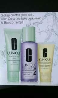 Clinique 3-Step Skin Care
