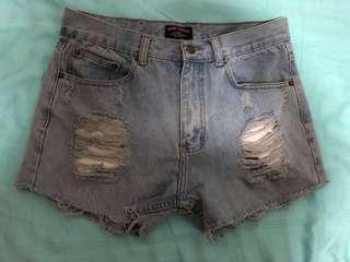 🚚 Denim Ripped Shorts