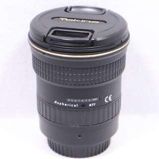 Tokina 12-24mm F4 AT-X124 Pro DX II Aspherical