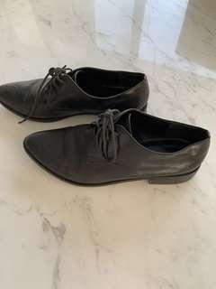 $200 Wittner black lace up brogues