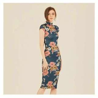 Doublewoot Floral Midi Dress