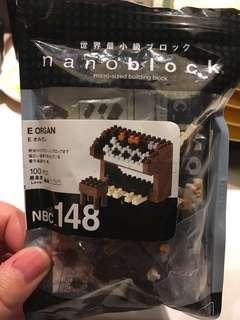 免費送 nanoblock管風琴 organ